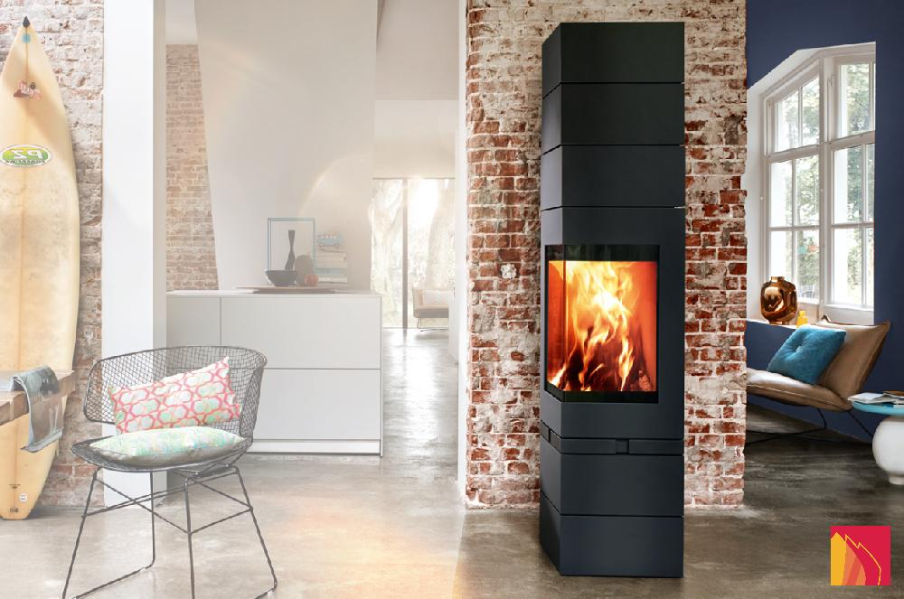 Real main heaters, these soapstone stoves can keep the heat and release it up to 24 hours after the fire is over! Design and efficiency combine for these stoves in steel or cast iron. They heat up quickly, and some can accumulate heat.