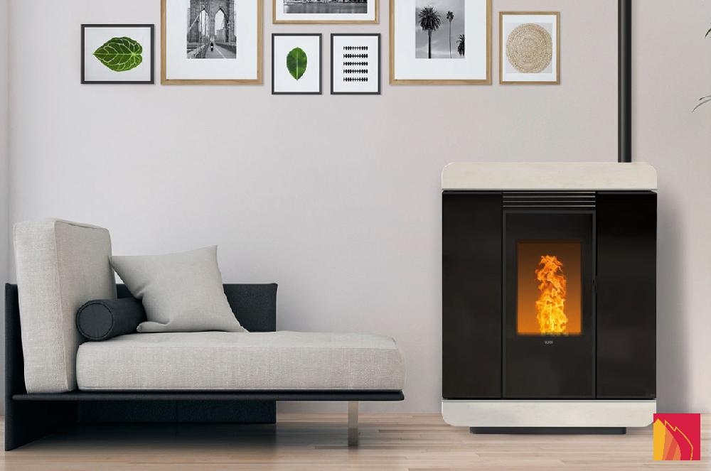Programmable, efficient and discreet, these pellet stoves quickly heat up your living space. The hot air can be channelled into other rooms, even non-communicating ones. These stoves thus become heating systems in their own right.