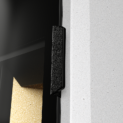 A ampla janela frontal sem moldura da T-ART dá-lhe um aspecto moderno e elegante.