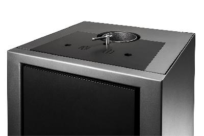 Para una máxima eficiencia, se instalan varias derivaciones en la TERMICA. Una solapa de conmutación integrada permite el tiro directo durante la ignición.