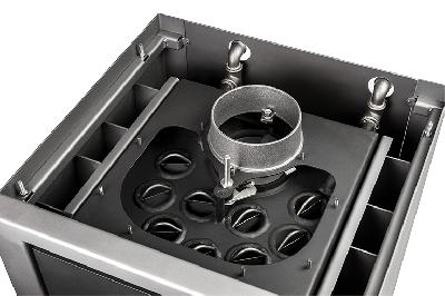 El intercambiador de calor TERMICA (WWT9) es muy eficiente, de alto rendimiento y fácil de limpiar desde arriba.