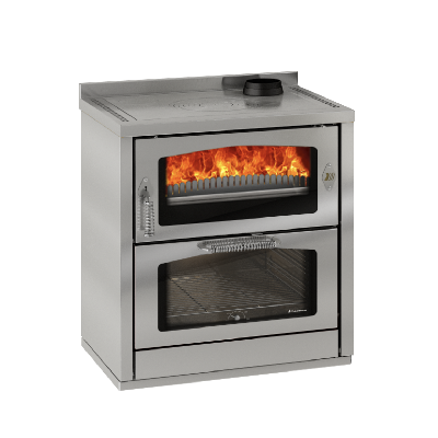 Kooktoestel Domino D8 Maxi roestvrij staal