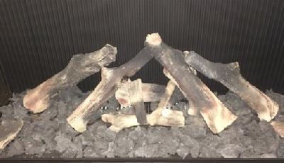 Decorações para lareira : Conjunto de troncos N°1