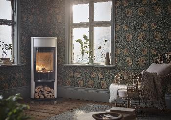 Contura 610 - Contura 610 grau - Tür aus Gusseisen, Deckplatte aus lackiertem Aluminium - Carron-Lugon