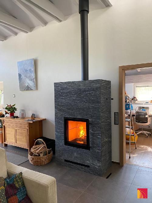 Masonry heater Tulikivi Raita