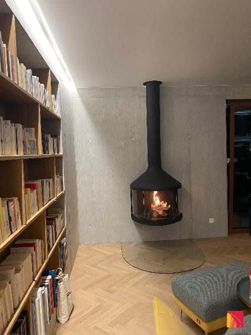 Chimenea de pared Focus Hubfocus