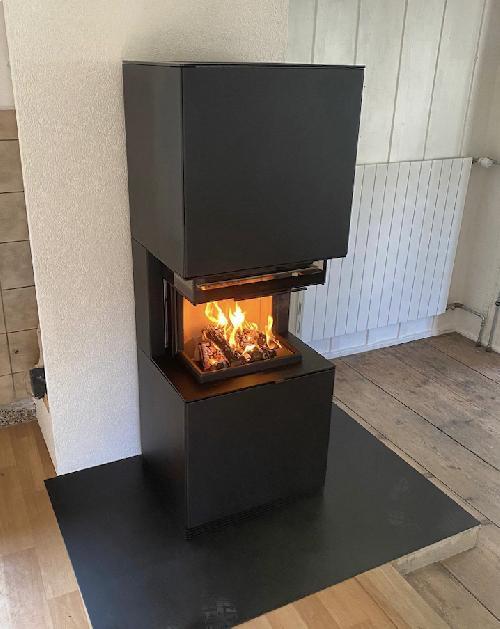 Estufa de leña Contura i61