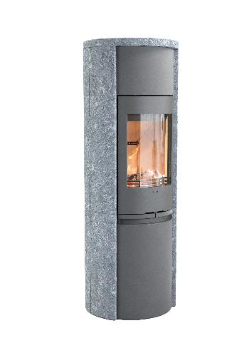 Contura 590T - Contura 590T zwart - Carron-Lugon