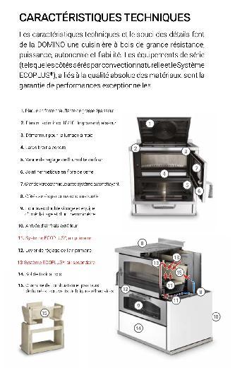 De Manincor Domino D8 Maxi - Visão geral do produto - Carron-Lugon
