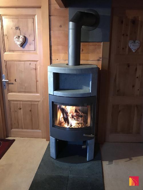Skantherm Ator+ wood stove
