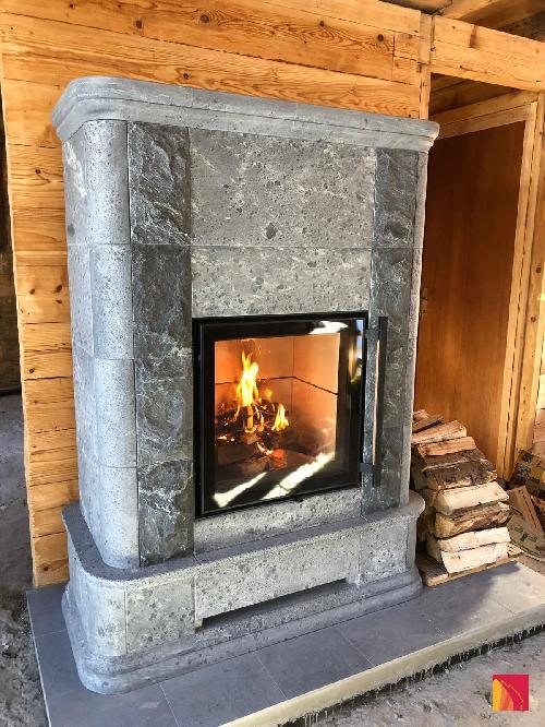 Metselwerkverwarming Tulikivi Akko