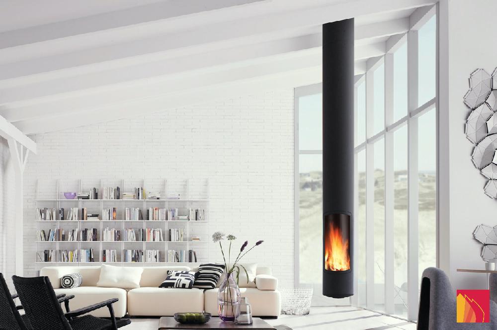 Focus, een emblematisch merk van hedendaagse haarden, maakt deel uit van een reeks decoratieve haarden met een bestudeerd ontwerp. Deze designhaarden verwarmen uw huis.