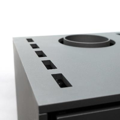 Ranhuras de ventilação - elementos de design combinados com funcionalidade.