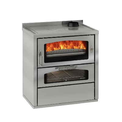 Domino D8 stainless steel cooker