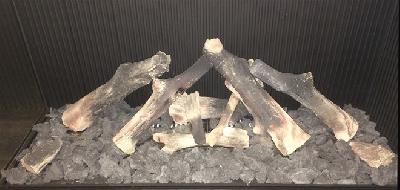 Decorações para lareira : Conjunto de troncos N°3