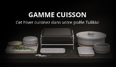 Gamme de cuisson Tulikivi